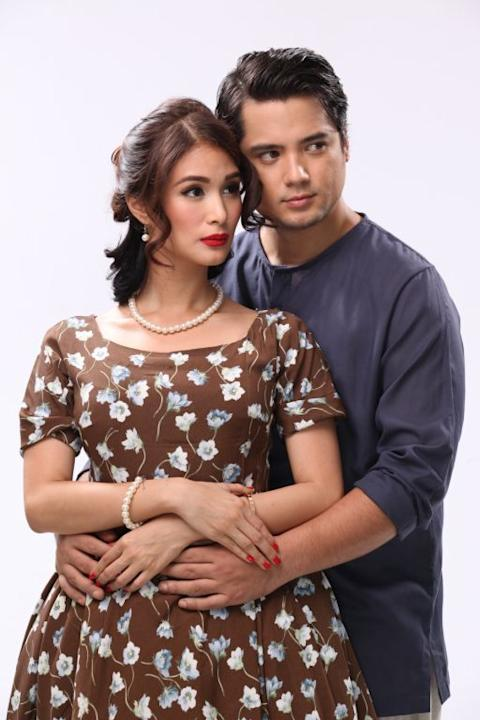 """Forever"" cast: Heart Evangelista and Geoff Eigenmann"