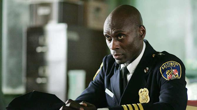 Lance Reddick in The Wire.