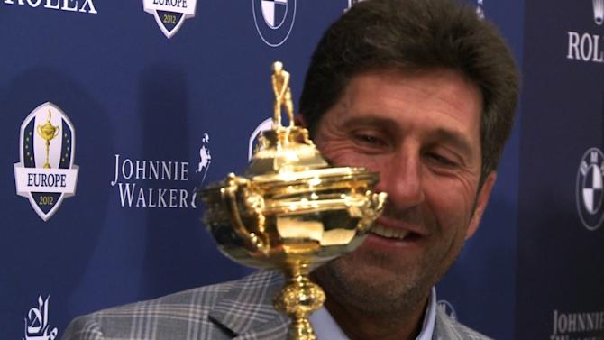 Olazabal basks in Ryder Cup triumph