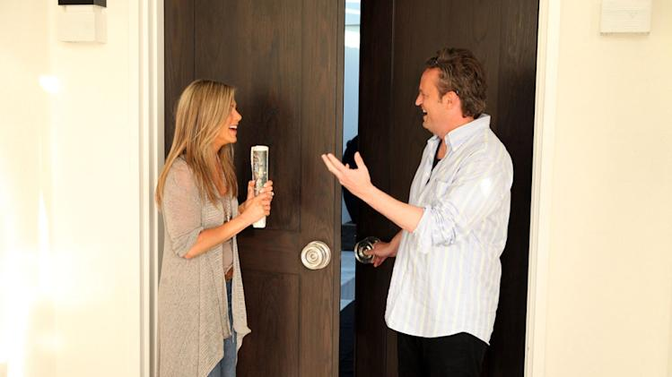 """The Ellen DeGeneres Show"" - Jennifer Aniston and Matthew Perry"