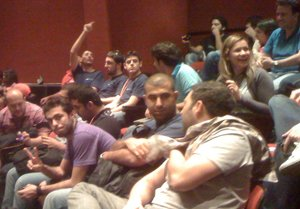 YallaStartup Weekend 2010 auditorium