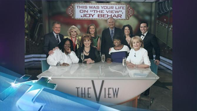 Joy Behar's Last Day on 'The View': Famous Friends, Co-Hosts Say Goodbye