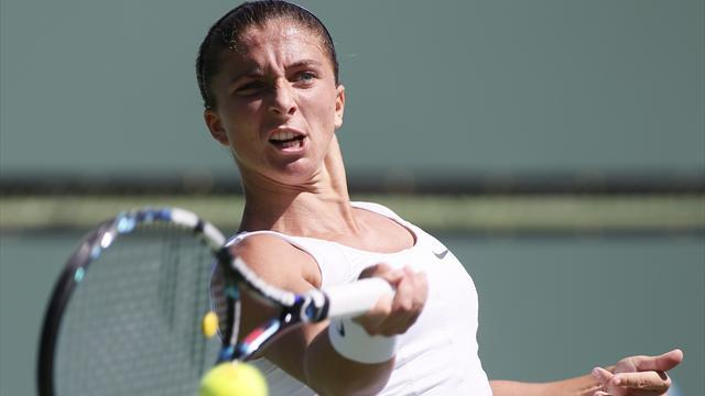 Fed Cup - Defending champions Czech Republic two down against Italy
