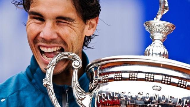 Tennis - Superb Nadal claims eighth Barcelona title