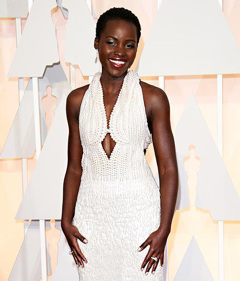 Lupita Nyong'o's Oscars 2015 Calvin Klein Dress Possibly Found: Details