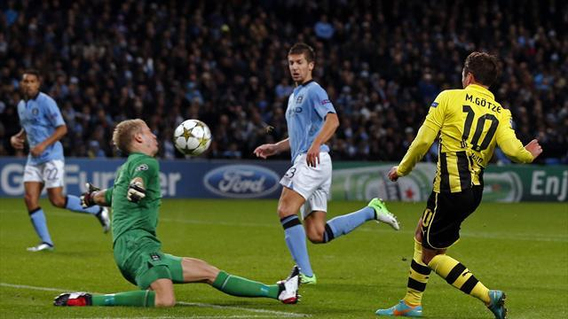 Hart the hero as City draw with Dortmund