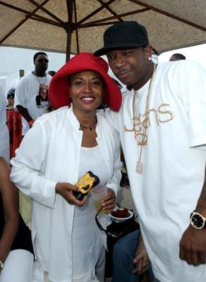 Premiere: Jenifer Lewis and Ja Rule at the Miami premiere of Lions Gate's The Cookout - 8/28/2004 Omarosa Manigault-Stallworth