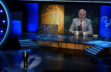 David Letterman presenting the Johnny Carson Tribute Emmy Awards - 9/18/2005