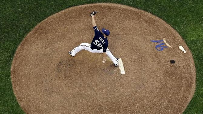 Fiers and Brewers dominate Blue Jays in 6-1 win