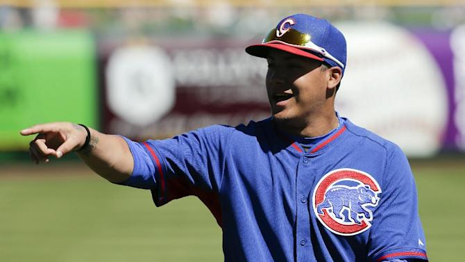 Baez turning heads at Cubs camp