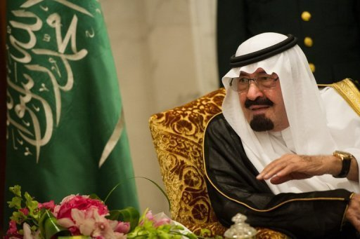 "King Abdullah of Saudi Arabia, pictured here on November 4, has ""successfully"" undergone a new operation to correct ""a ligamentary slackening in the upper back"", the royal cabinet announced Sunday"