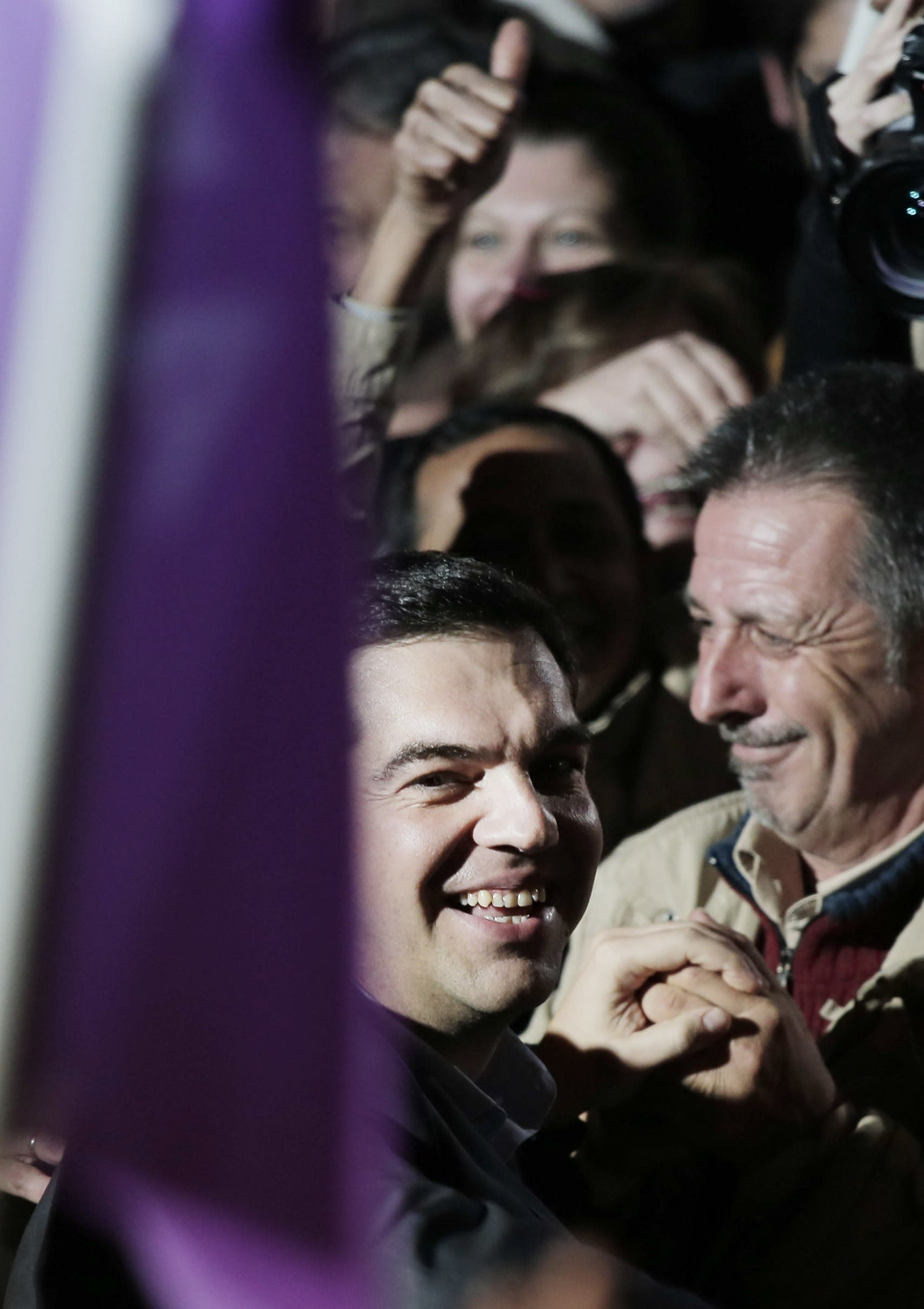 Outgoing Greek prime minister concedes defeat in elections