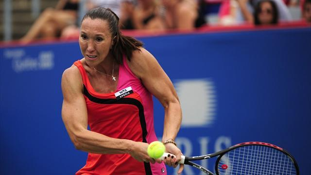 Jankovic storms into Dallas semis