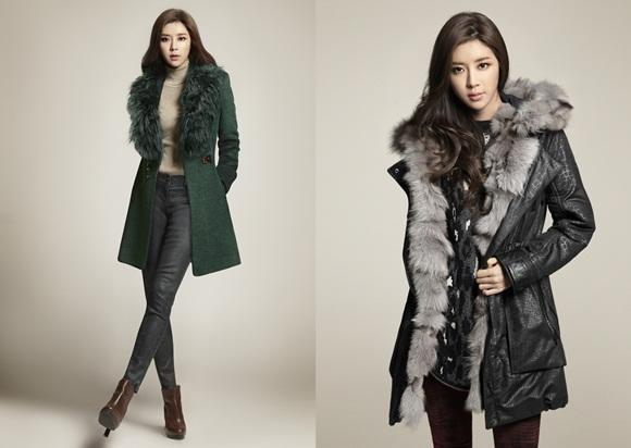Park Han Byul releases a new winter fashion pictorial
