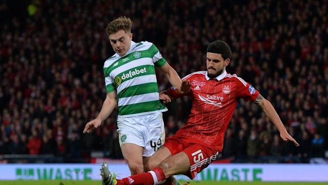 James Forrest continues his scintillating form as Celtic edge closer to title