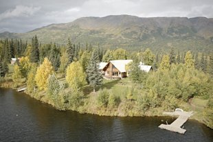 Winterlake Lodge's 15 acres are so deep in Alaska's backcountry that no roads or waterways reach it.