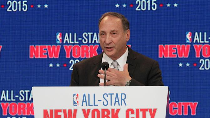 Bruce C. Ratner, majority owner and developer of Barclays Center and executive chairman of Forest City Ratner Companies, speaks during a press conference Wednesday Sept. 25, 2013, in New York, announcing the selection of the city to host the NBA All-Star game in 2015. The 64th NBA All-Star game is scheduled to be played at New York's Madison Square Garden Sunday Feb. 15, 2015 with Friday and Saturday night events being held at the Barclays Center in the Brooklyn borough of New York