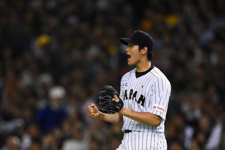Nippon Ham Fighters star Shohei Otani wants to play in MLB. (Getty Images/Masterpress)