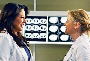 Sara Ramirez and Jessica Capshaw | Photo Credits: Eric McCandless/ABC