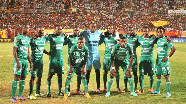 African Football - Leopards make a point in Champions League opener