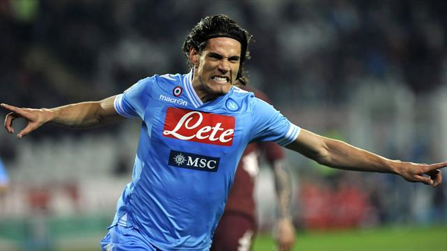 Serie A - Cavani in Paris for medical ahead of £55.4m PSG move