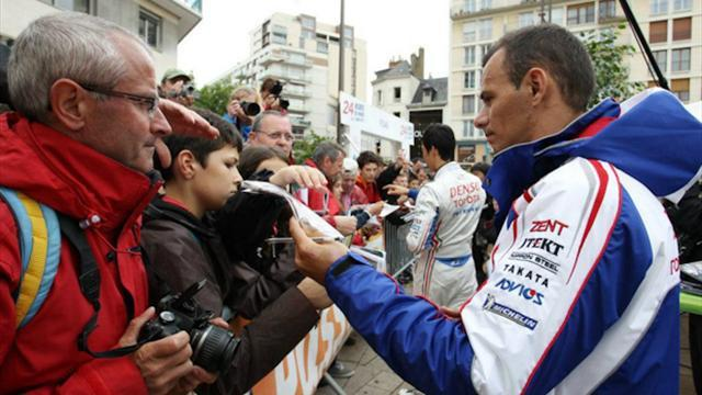 ERC - Sarrazin braced for serious competition in Corsica