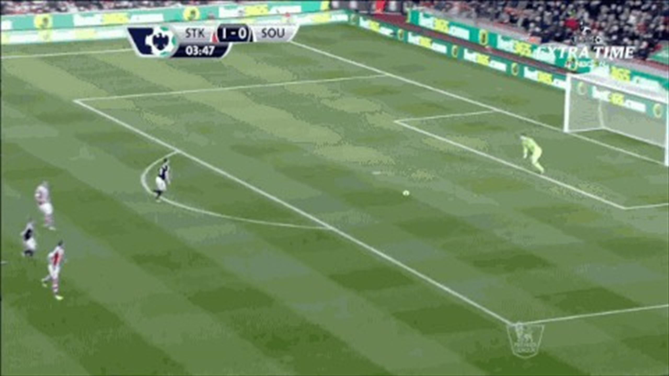 Premier League - Begovic credited with longest goal in history of football
