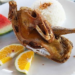 Balinese Food: The Battle of Balinese Crispy Duck