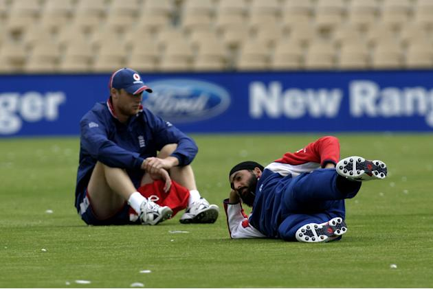 The Ashes -  England Team Training - November 16, 2006