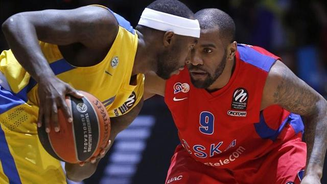 Basketball - Maccabi edge CSKA to reach Euroleague final