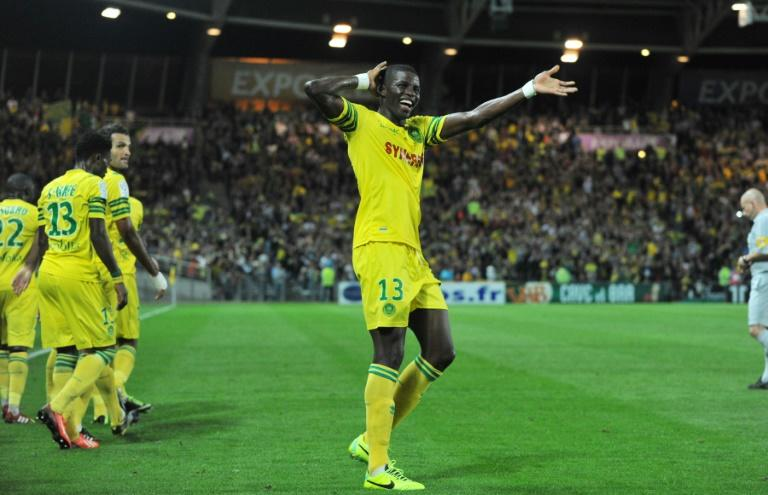 Papy Djilobodji, pictured on October 5, 2013, joins Chelsea on a four-year deal from Nantes