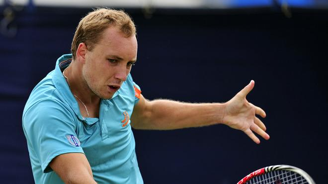 Steve Darcis Of Belgium Plays AFP/Getty Images