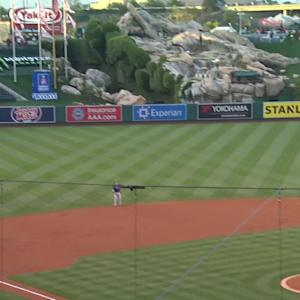 Freese's solo homer