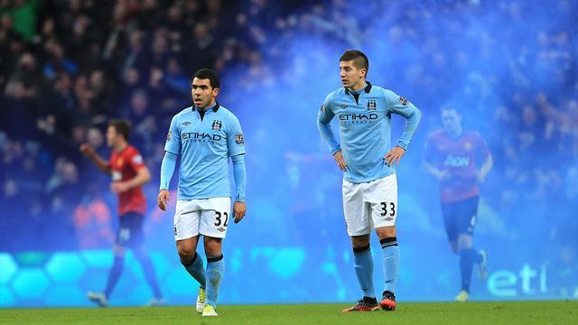 Premier League - Police investigate Man City flare incidents at Newcastle