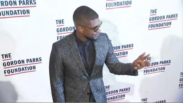De Niro and Usher Honoured by Gordon Parks