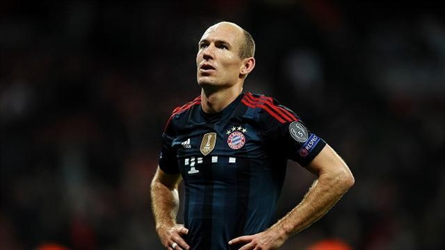 Champions League - Robben hits back at Wenger over 'diver' claims