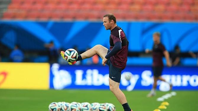 World Cup - Hodgson calls on Rooney to step up against Italy