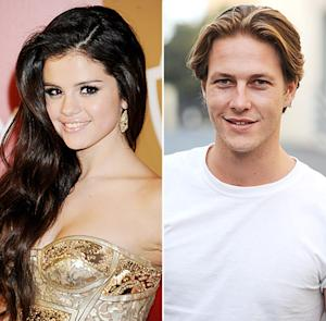 Selena Gomez Holds Hands With Luke Bracey at Golden Globes Party After Justin Bieber Split