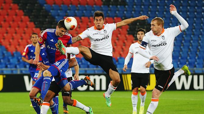 FC Basel 1893 v FC Valencia - UEFA Europa League Quarter Final