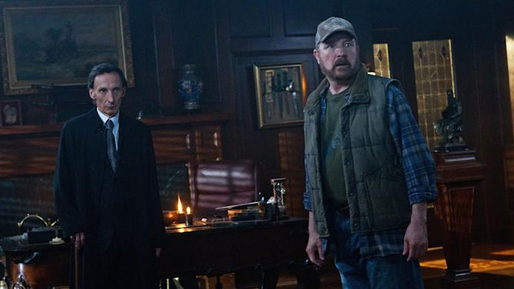 """Meet the New Boss""  - (L-R): Julian Richings as Death and Jim Beaver as Bobby Singer in ""Supernatural."""