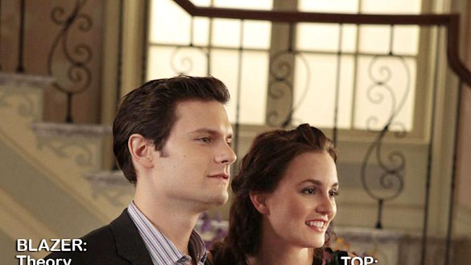 "Hugo Becker as Prince Louis Grimaldi and Leighton Meester as Blair Waldorf in the Season 5 episode ""The Fasting and the Furious."" Gossip Girl"