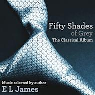 "This CD cover image released by EMI shows ""Fifty Shades of Grey: The Classical Album,"" a release inspired by the music selected by author EL James for her ""Fifty Shades of Grey"" book series. (AP Photo/EMI)"
