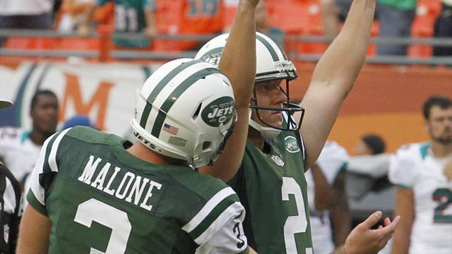 Jets get OT win over Miami with second-chance field goal