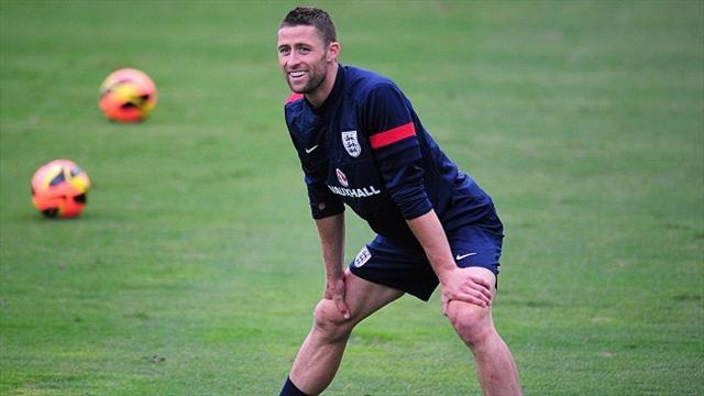 World Cup - Cahill leaps to England defence