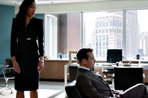 'Suits' Summer Finale: Gabriel Macht, Gina Torres Play Good Lawyer-Bad Lawyer (Exclusive Video)