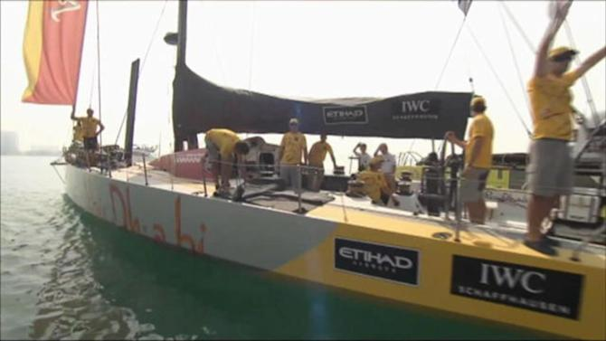 Sailing - Abu Dhabi Racing heading for victory in Volvo Ocean Race