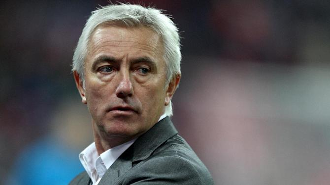 Holland failed to pick up a point under Bert Van Marwijk at Euro 2012
