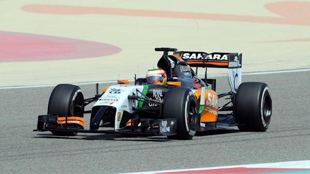 2014 Force India, Sergio Perez (imago)