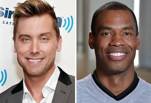 Lance Bass, Jason Collins | Photo Credits: Cindy Ord/Getty Images; Eric McCandless/ABC via Getty Images