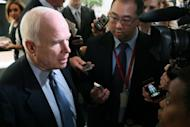 Senator John McCain, pictured on June 7, and Senate Majority Leader Harry Reid, a Nevada Democrat and former middleweight boxer, have introduced legislation that would create the United States Boxing Commission